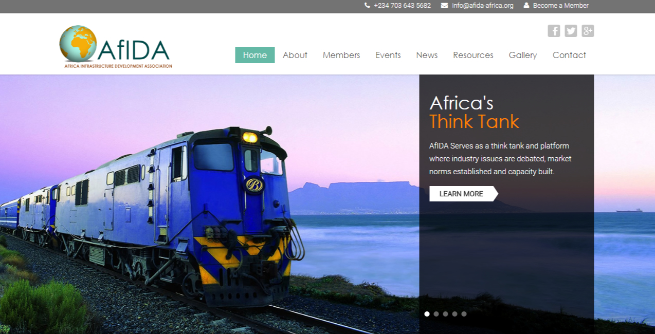 AFRICA INFRASTRUCTURE DEVELOPMENT...